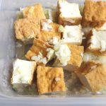 簡単時短常備菜レシピ。厚揚げのねぎ塩だれ