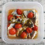 簡単魚の常備菜レシピ。あじとピーマントマトの南蛮漬け