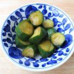人気の簡単常備菜レシピ。きゅうりの味ぽん浅漬け