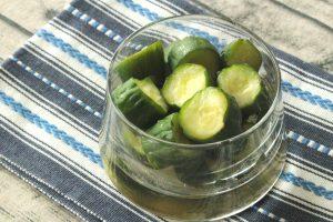 簡単で日持ちする常備菜レシピ。塩レモンきゅうり