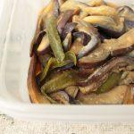 人気の簡単なすピーマンの味噌炒め。レンジでお弁当の常備菜レシピ