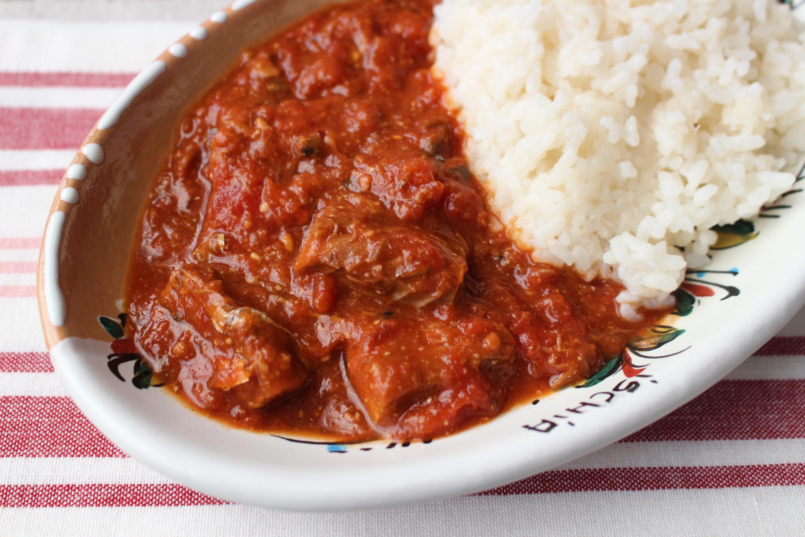 トマト 鶏 缶 もも肉