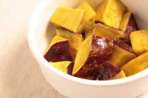 レンジのみで大学芋の簡単レシピ。人気のさつまいもの常備菜。