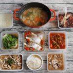 100分で9品。大根の節約おかず中心。作り置きレシピ一週間と簡単常備菜レポート(2018年12月25日)