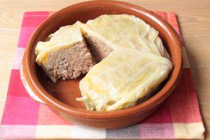 巻かないロールキャベツの人気レシピ。ケチャップで簡単作り方。