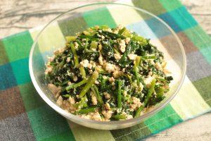 基本の簡単作り置き常備菜レシピ。ほうれん草の白和えの作り方。