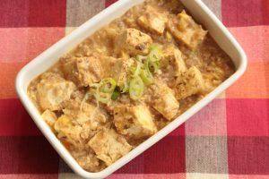 人気の簡単で美味しいマーボー豆腐の作り方。いつもの味噌でお手軽に!豆板醤なしのレシピ。
