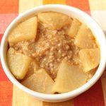 レンジで簡単つくりおき常備菜レシピ。やみつき麻婆大根の作り方。