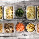 90分で10品!卵の節約おかず中心。作り置きレシピ一週間と簡単常備菜レポート(2019年3月10日)