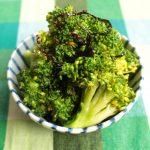茎まで美味しく簡単レシピ。ブロッコリーの塩こんぶナムルの作り方。