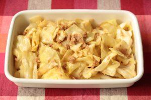 5分で簡単常備菜レシピ。ツナ蒸しキャベツの作り方。