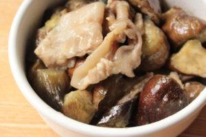 レンジで簡単作り置き常備菜。やみつき塩ダレ豚バラなすの作り方