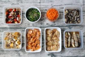 70分で8品!鶏肉のお弁当おかず中心。作り置きレシピ一週間と簡単常備菜レポート(2019年5月26日)