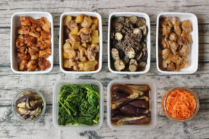 65分で8品!鶏肉のお弁当おかず中心。作り置きレシピ一週間と簡単常備菜レポート(2019年6月9日)