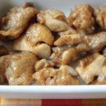人気のレンジで簡単お弁当レシピ。鶏モモ肉のポン酢焼きの作り方。