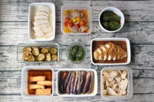 78分で9品!鶏肉のお弁当おかず中心。作り置きレシピ一週間と簡単常備菜レポート(2019年7月21日)