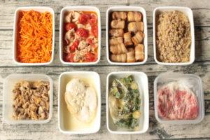 65分で8品!豚肉のお弁当おかず中心。作り置きレシピ一週間と簡単常備菜レポート(2019年8月18日)