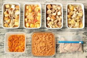 60分で7品!厚揚げのお弁当おかず中心。作り置きレシピ一週間と簡単常備菜レポート(2019年9月23日)