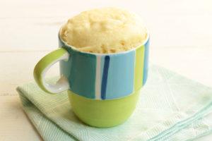 卵と牛乳を使わないほんのり甘い豆乳蒸しパンの作り方。材料2つでレンジで簡単レシピ。