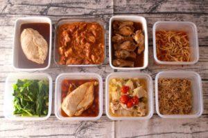 86分で8品!鶏肉のお弁当おかず中心。作り置きレシピ一週間と簡単常備菜レポート(2019年11月16日)