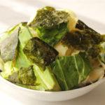 簡単日持ちする常備菜レシピ。キャベツと海苔のチョレギサラダ
