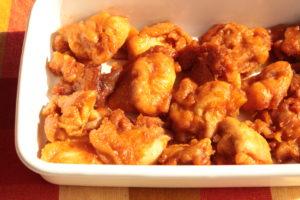 ヤンニョムチキンのレンジで簡単作り方!韓国風コクうまピリ辛からあげのレシピ