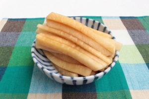 大根は皮ごと切って漬けるだけ!たれ漬けポリポリ大根の簡単作り方。塩もみ不要!