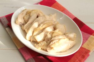 調味料2つ!最高の節約おかず。ムネ肉やわらか旨塩マヨネーズ焼きの作り方。