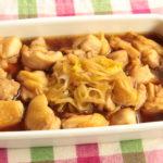 レンジで簡単!タレが美味しい甘辛つゆだく鶏ねぎ丼のレシピ。お弁当におすすめの鶏肉おかずの作り方。