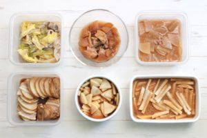 72分で6品!大根1本使い切り!お弁当おかず中心。作り置きレシピ一週間と簡単常備菜レポート(2020年2月8日)