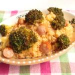 レンジなのにレストランの味!ブロッコリーのトマト風味リゾットの簡単レシピ。