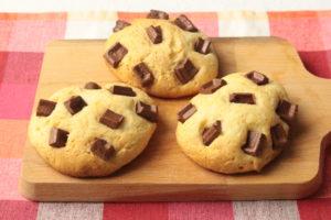 ホットケーキミックスでサクふわチョコスコーン!トースターで簡単レシピ。バターなしでサラダ油で作れます!