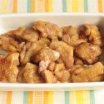 レンジで簡単!鶏もも肉のだし醤油焼き #PR