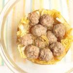 人気の煮物レシピ。白菜と肉団子の中華風うま煮のレンジで簡単作り方。