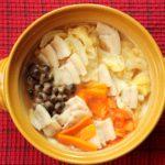 白菜大量消費におすすめ!白菜と豚肉のコクうまみそ鍋。つゆだく鍋で体ぽかぽかに!