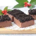 ファミマで大人気!ショコラチーズケーキの再現レシピ。生クリームなしでレンジだけで簡単!