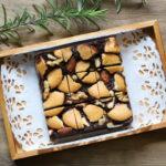 バレンタインにおすすめ!濃厚しっとりクッキーナッツブラウニーの超簡単作り方。レンチン2回で12分で完成!