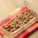 レンジで一番簡単なお弁当の作り置きおかず。レンチン一撃!肉そぼろ