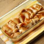 レンジで簡単お弁当レシピ!照り焼きチキンの作り方。鶏もも肉と片栗粉でやわらかく!
