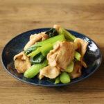 豚バラ小松菜のにんにくしょうゆ炒め