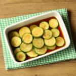 人気のズッキーニのとろとろ南蛮漬けのレンジで簡単作り方。作り置き常備菜におすすめレシピ。