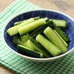やみつきポリポリきゅうりナムルの作り方。人気作り置きレシピ。