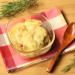 豚じゃがチーズの重ね焼きの人気レシピ。レンジとトースターで超簡単レシピ。