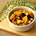 最高の秋おやつ。かぼちゃとナッツのキャラメリゼの超簡単レシピ。